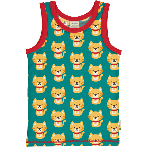 Maxomorra Tanktop - Cat