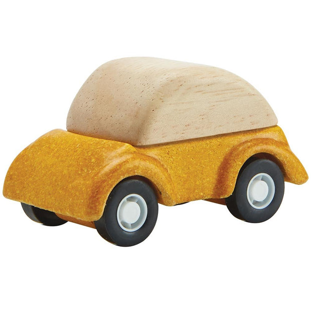 Plan Toys Yellow Car