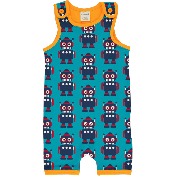 maxomorra short playsuit classic robot 1