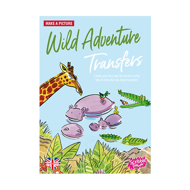 scribble down activity transfer pack wild adventure