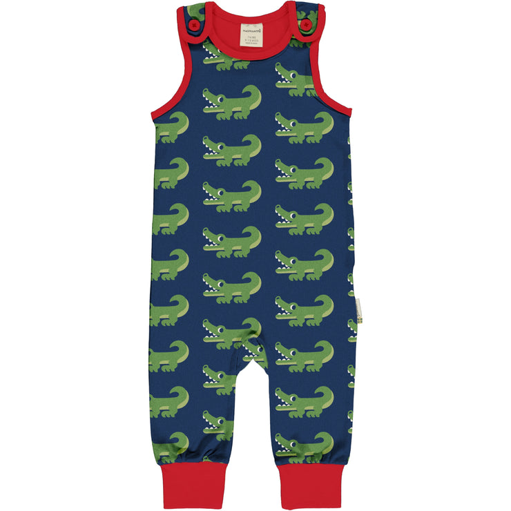 Maxomorra Playsuit - Crocodile