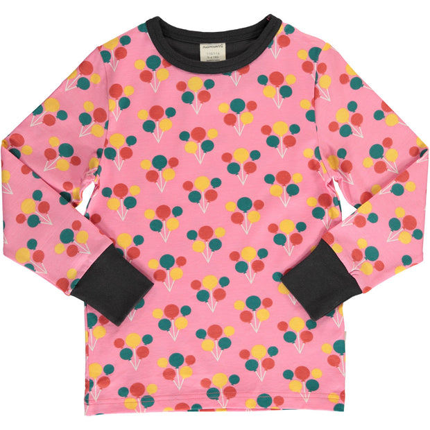 Maxomorra Long Sleeved Top - Party Balloon