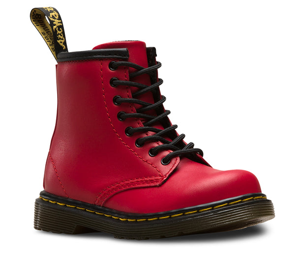dr martens 1460 toddler boot red