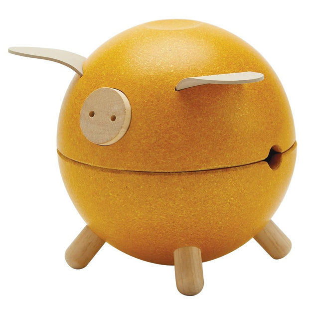 Plan Toys Piggy Bank - Yellow