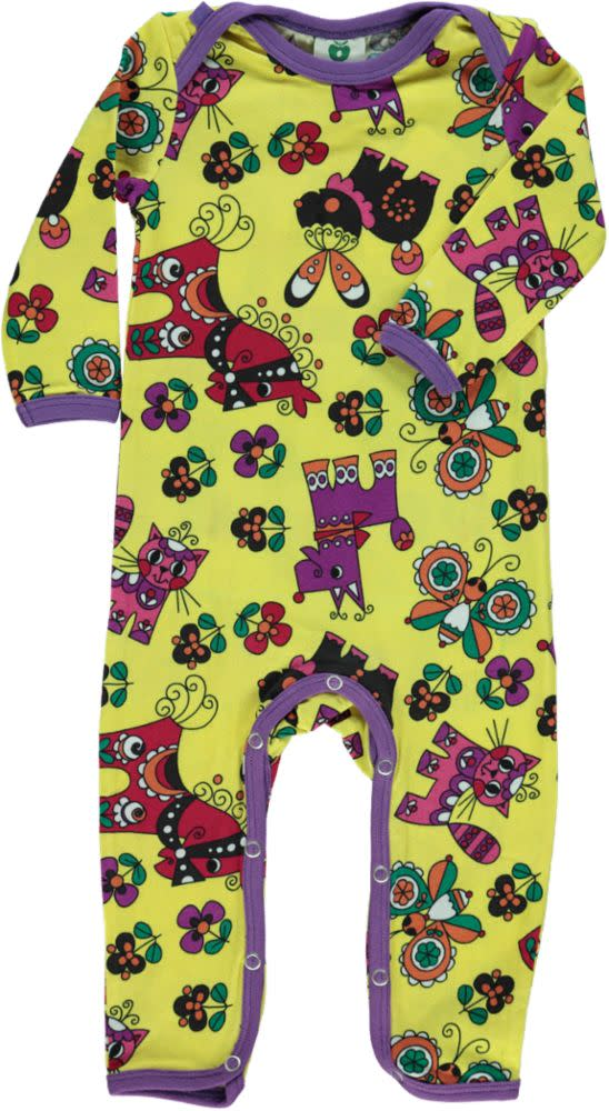 Smafolk Animals Bodysuit - Yellow