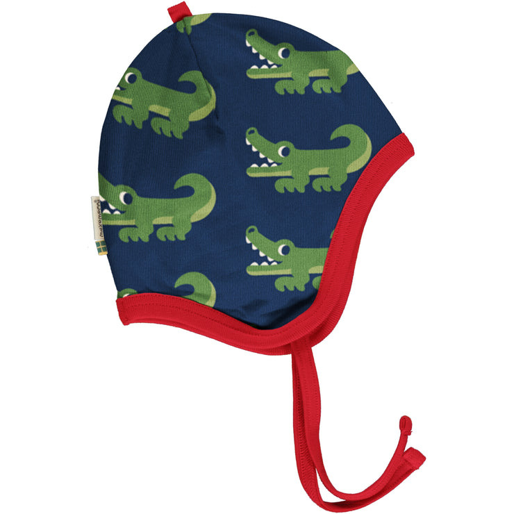 Maxomorra Helmet Hat - Crocodile