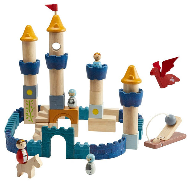 Plan Toys Castle Blocks Orchard Collection