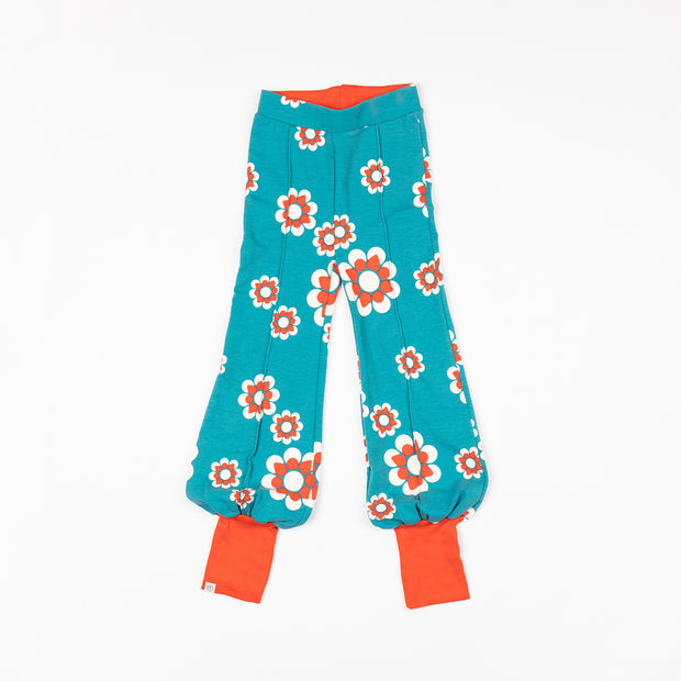 Alba Of Denmark Ballon Tight Pants - Biscay Bay Flower Heaven