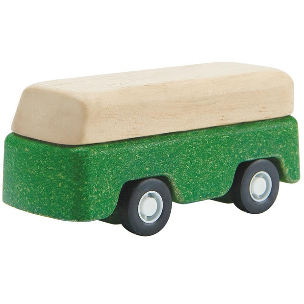 Plan Toys Green Bus