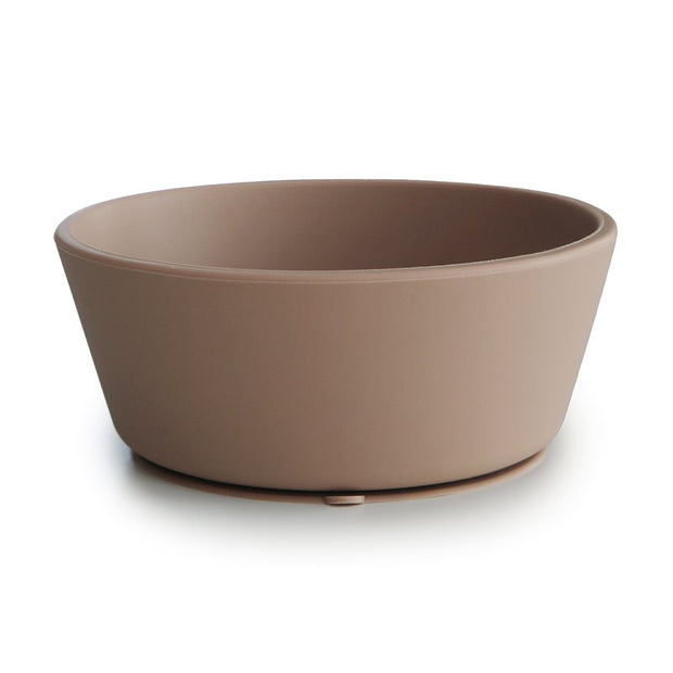 Mushie Silicone Bowl - Natural