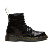 dr martens 1460 pooch sequin junior boot black