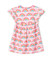 hatley baby puff dress magical rainbows
