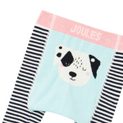 Joules Lively Knitted Leggings Set 2 Pack - Squirrel & Dalmation