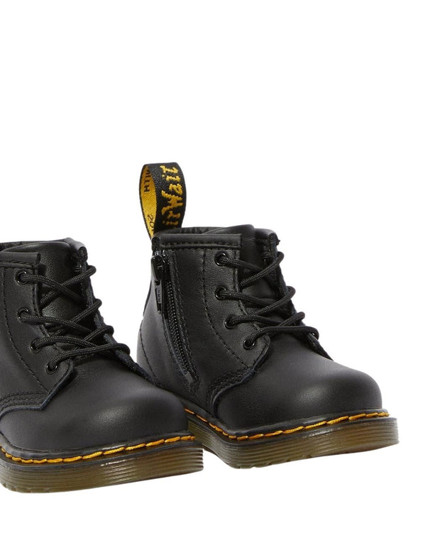 Dr. Martens Infant 1460 Leather Ankle Boots - Black