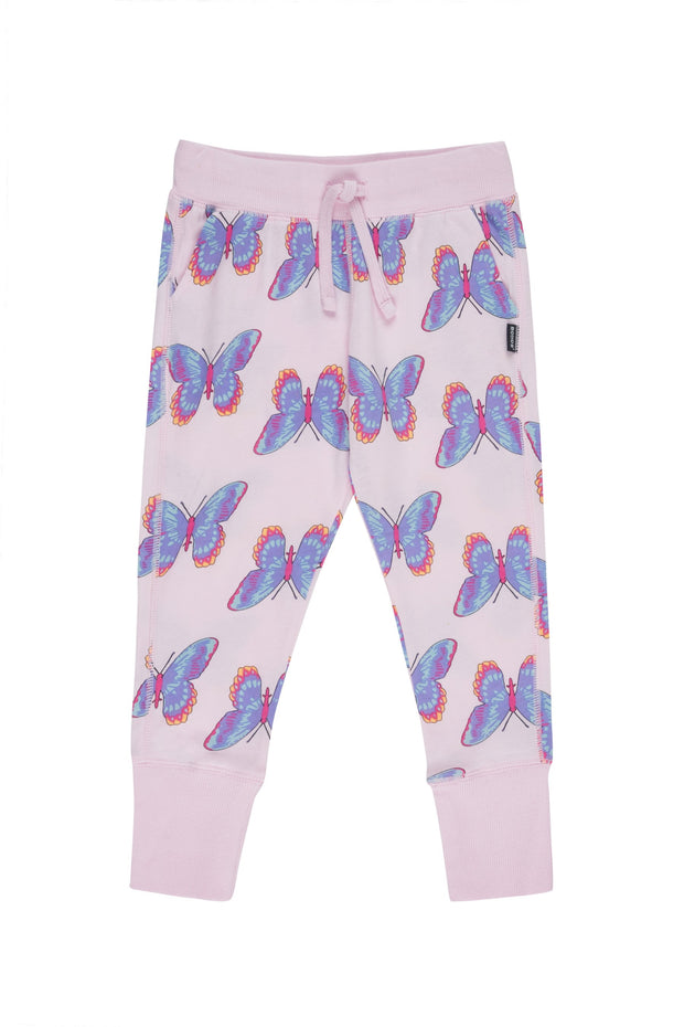 Bonds Kids Hipster Trackie Butterfly Disco Sunrise Pink