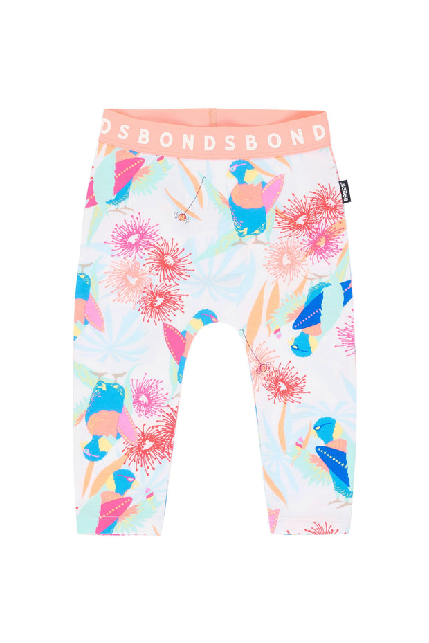 Bonds Stretchies Leggings Surfing Bird Is The Word