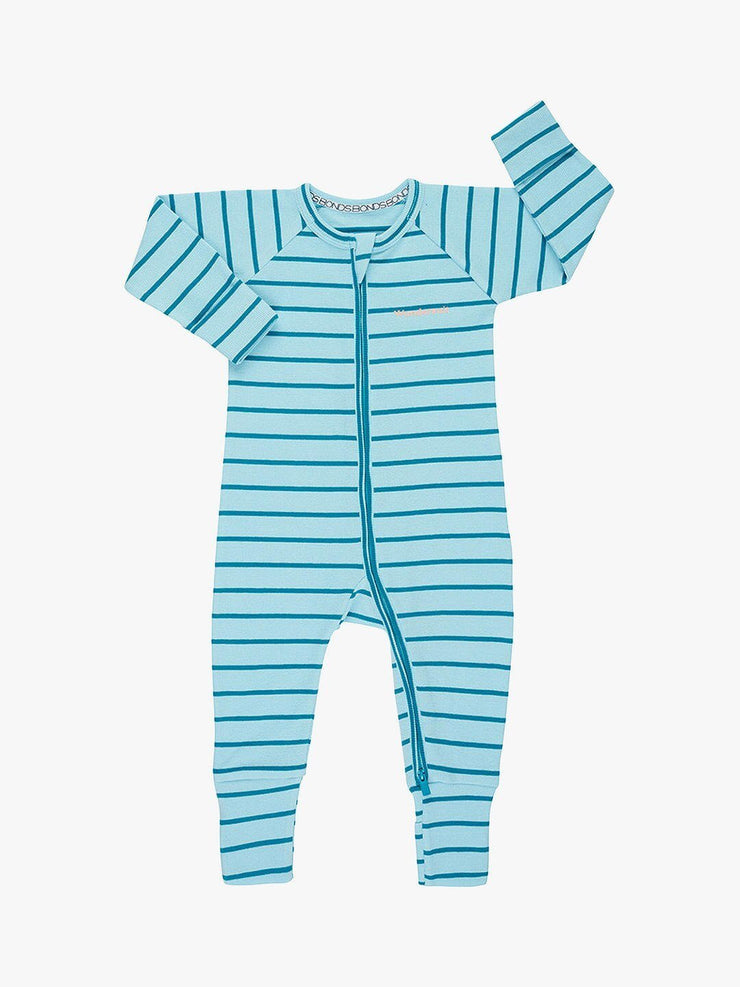 Bonds Zip Wondersuit Cloud Control / Miami Teal