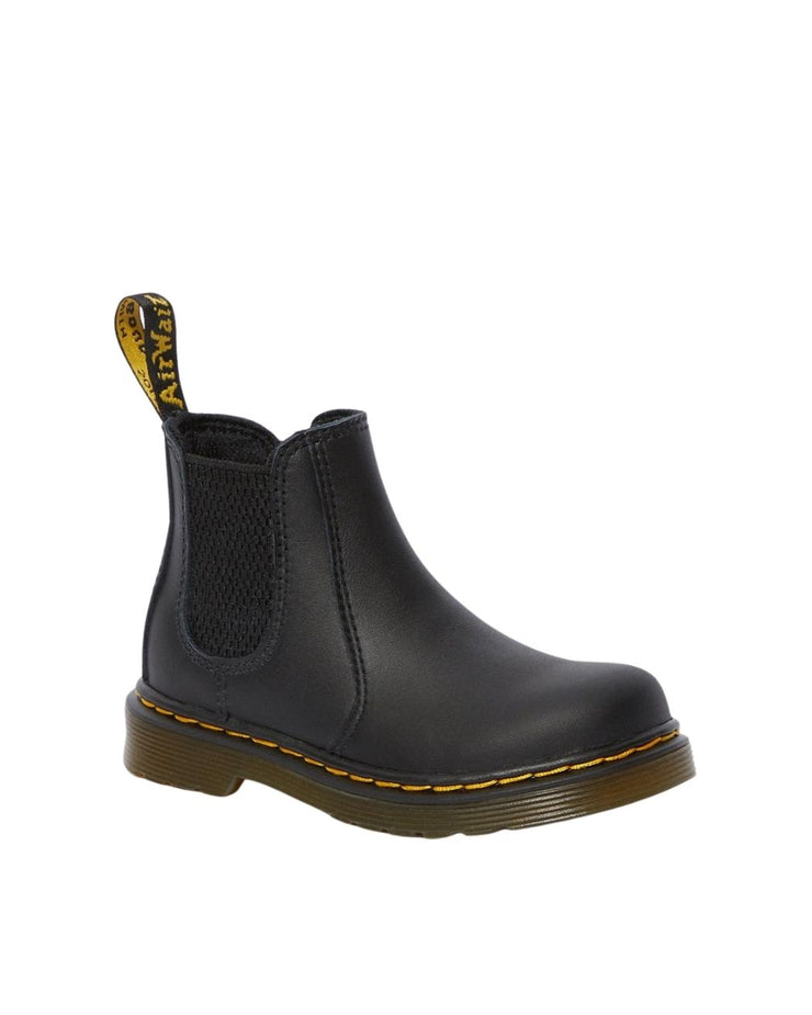 Dr. Martens Toddler 2976 Shenzi Chelsea Boot - Black Softy T