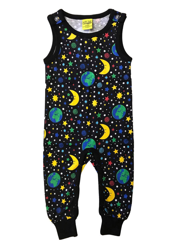Duns Sweden Mother Earth Dungarees - Black