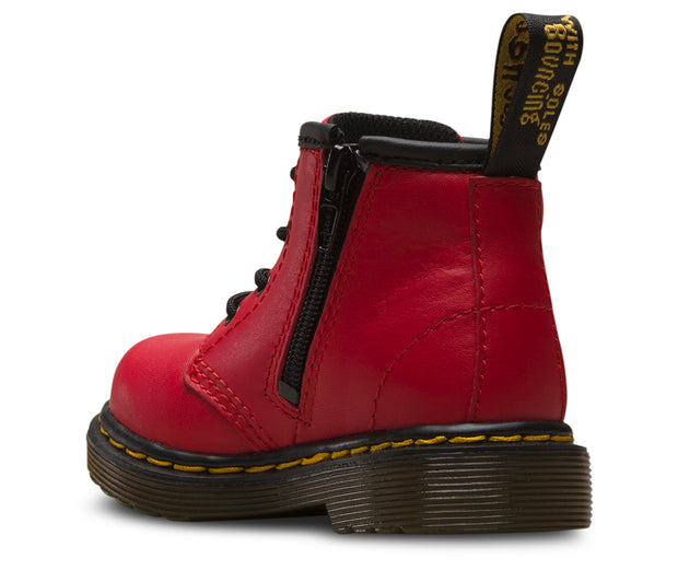 dr martens 1460 infant boot red