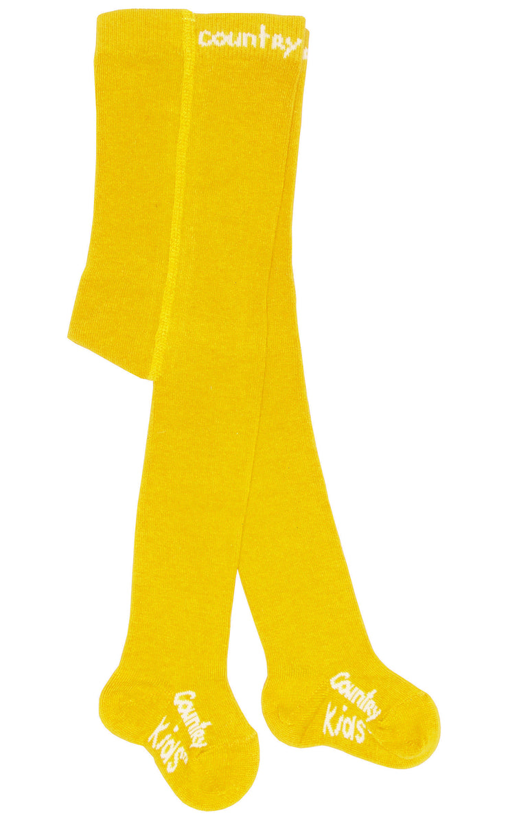 country kids tights marigold yellow