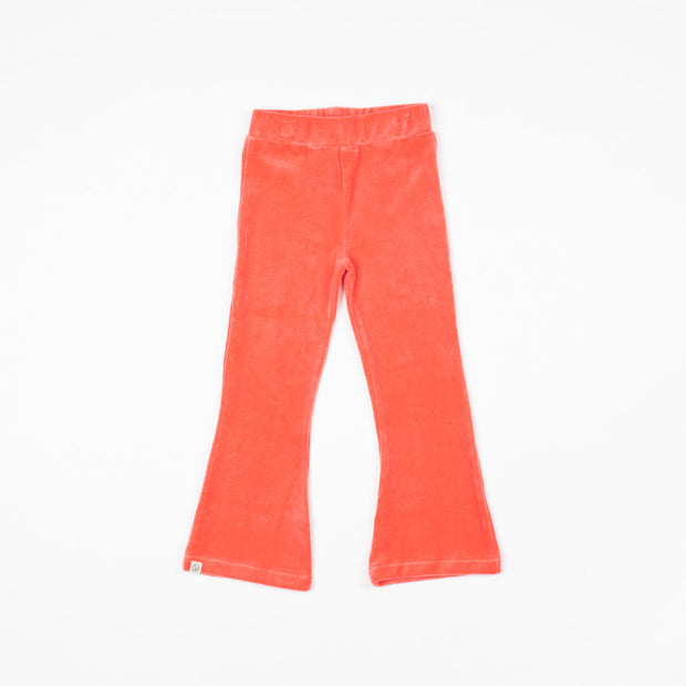 Alba Of Denmark Katrine Trumpet Pants - Sun Kissed Coral