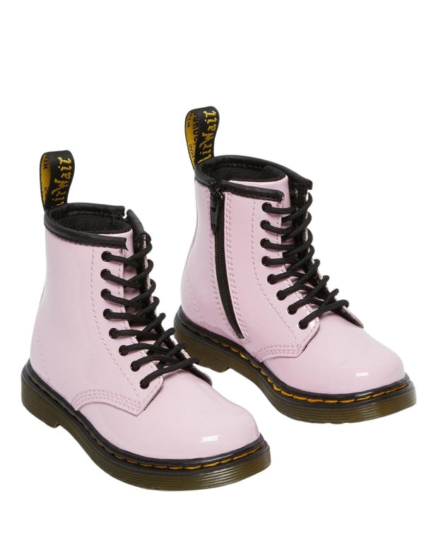 Dr. Martens 1460 Toddler Patent Leather Ankle Boots - Pale Pink