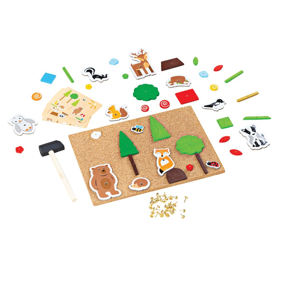 Bigjigs Toys Wooden On The Farm Sensory Board Exploration Sight Touch