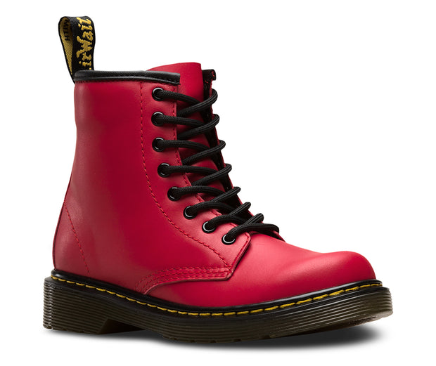 dr martens 1460 junior boot red