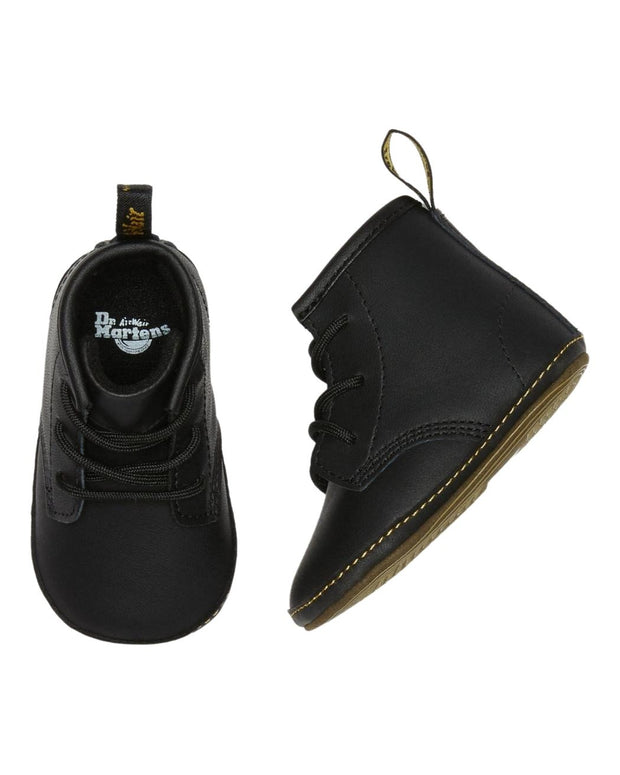 Dr. Martens 1460 Crib Baby Leather Booties - Black