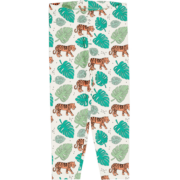 meyadey cropped leggings tiger jungle