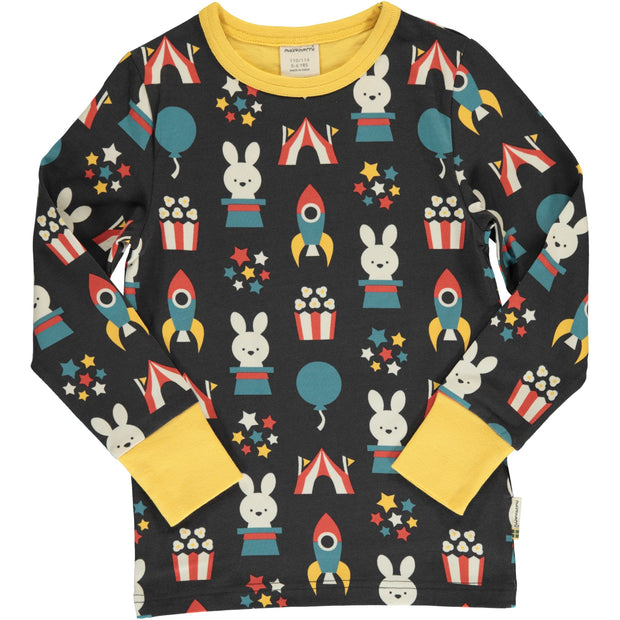 Maxomorra Long Sleeved Top - Fun Park