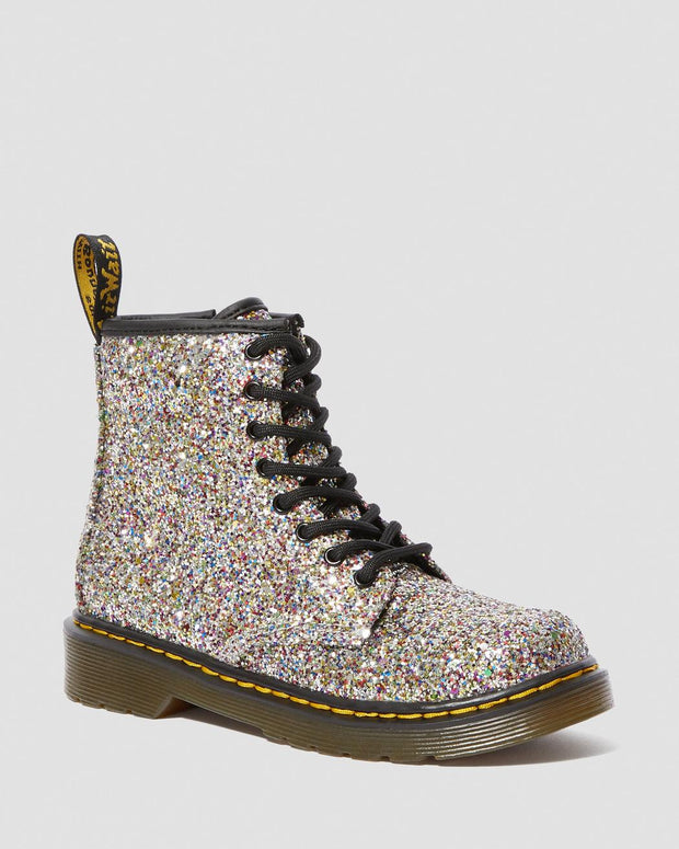dr martens 1460 junior lace up boot chunky glitter