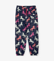 hatley kids colour changing splash pants playful horses