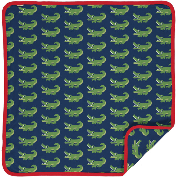 Maxomorra Blanket - Crocodile