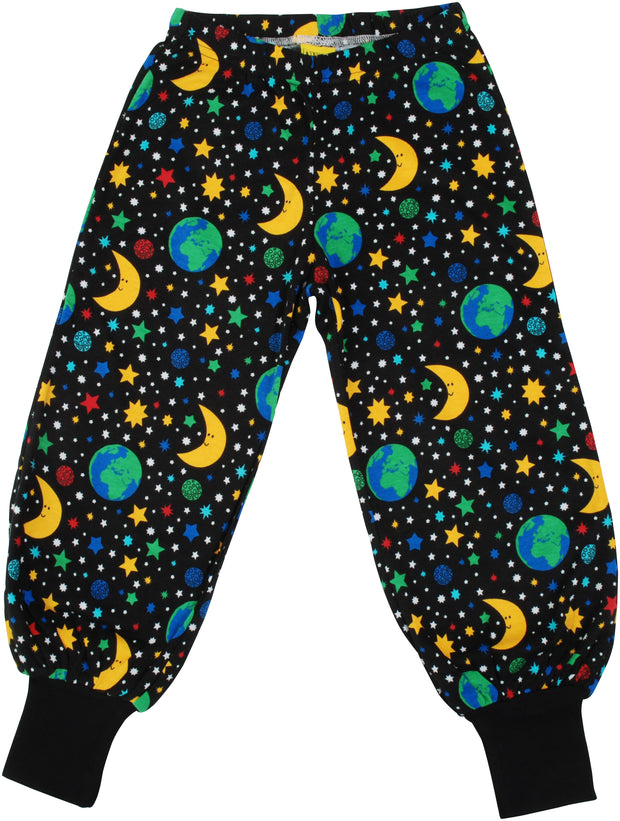 Duns Sweden Mother Earth Baggy Pants - Black