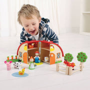 bigjigs toys farm mini playset