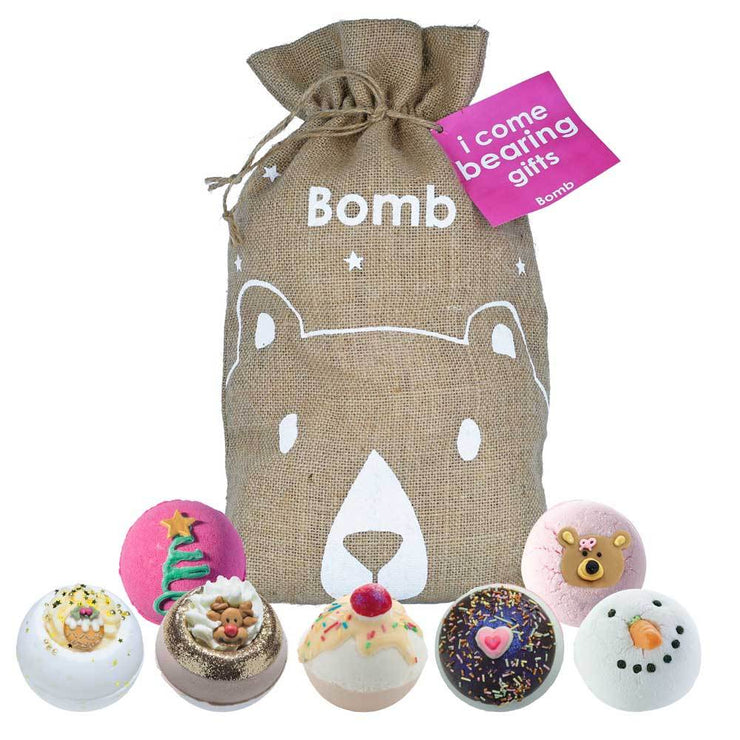 Bomb Cosmetics - I Come Bearing Gifts Hessian Sack