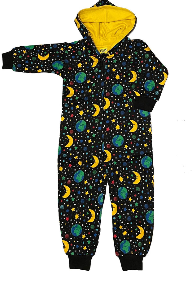 Duns Sweden Mother Earth Onesie - Black