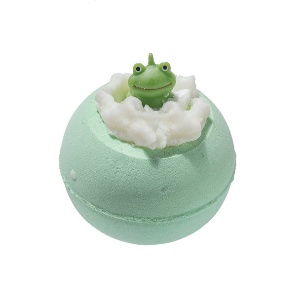 bomb cosmetics its not easy being green bath blaster