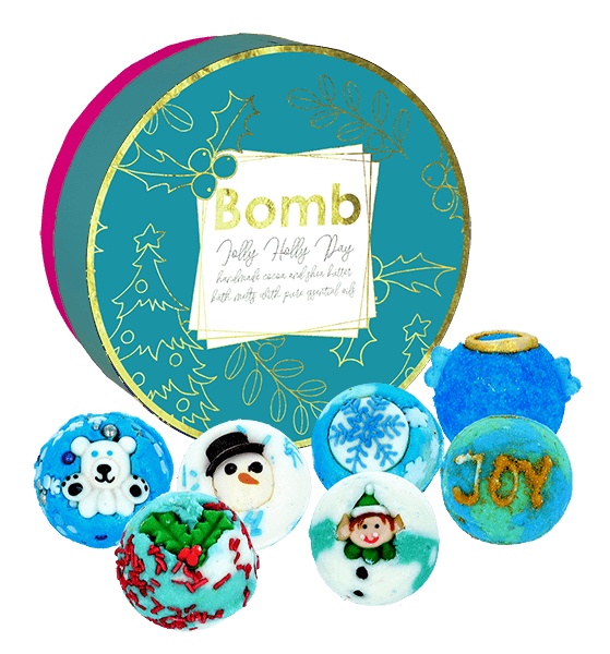 Bomb Cosmetics - Jolly Holly Day Creamer Gift Pack