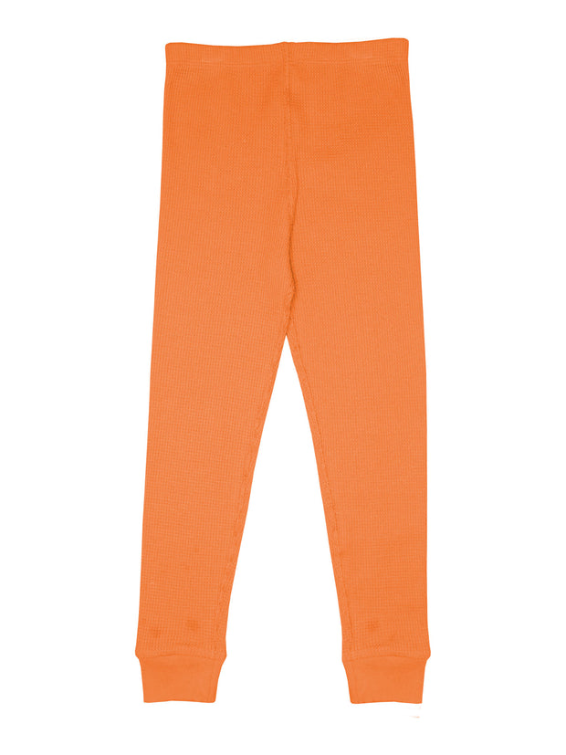 Slugs & Snails Waffle Leggings - Orange