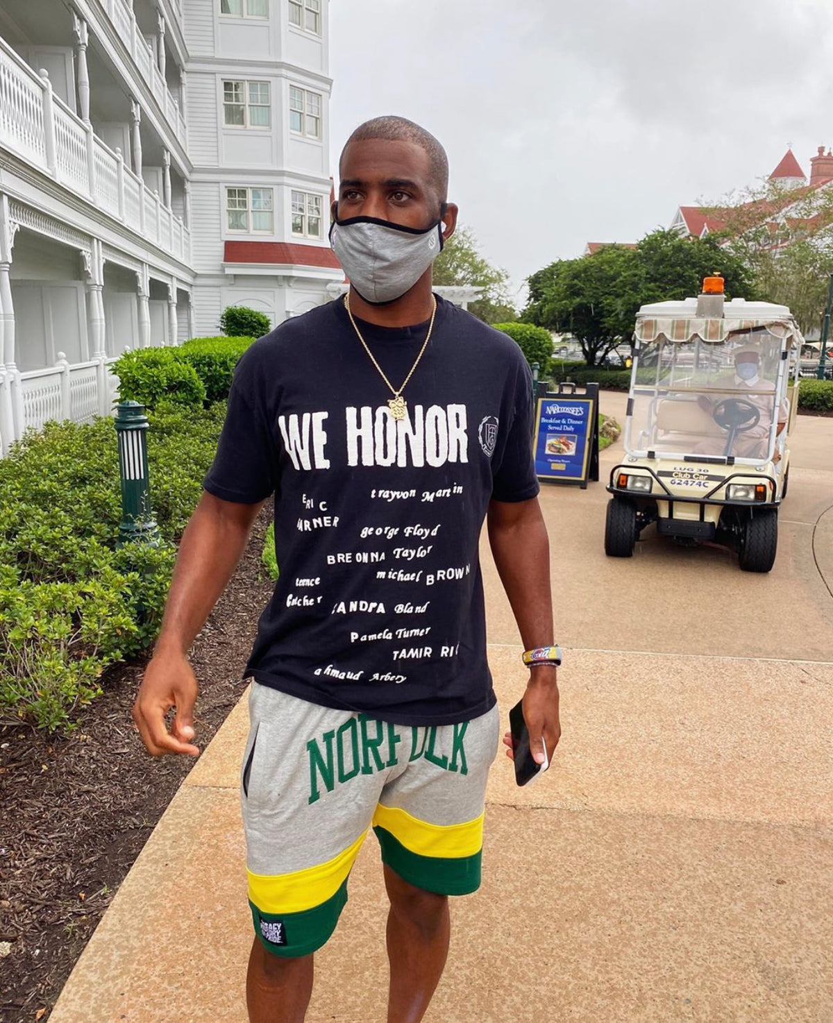 NBA Star, Chris Paul, ignites the HBCU conversation without saying a word