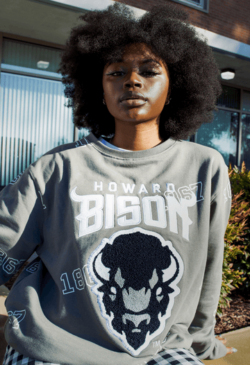 "Howard University ""PRIMETIME"" GREY Crew"