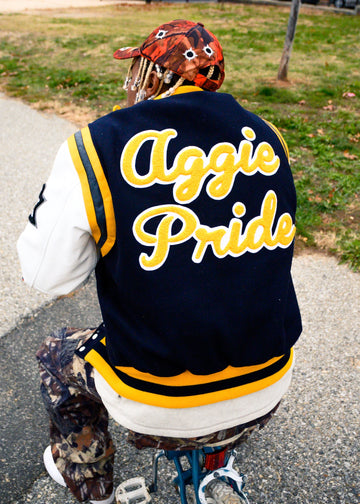 "North Carolina A&T State University ""MOTTO"" Varsity Jacket"