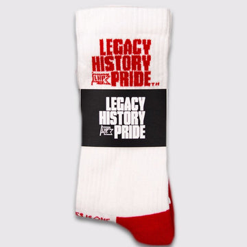 Legacy History Pride Athletic Socks