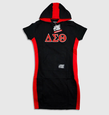 "Delta Sigma Theta  ""RiRi"" Hooded Dress"