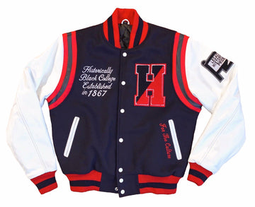 "Howard University ""MOTTO"" Varsity Jacket"