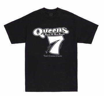 """One Way In,One Way Out"" QUEENS 7 tee"