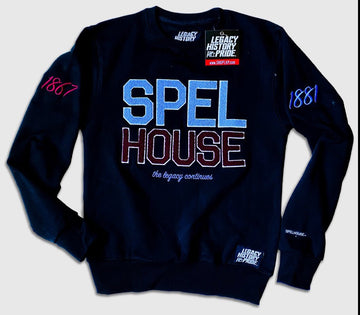 "SpelHouse ""All Black Everything"" Crew"